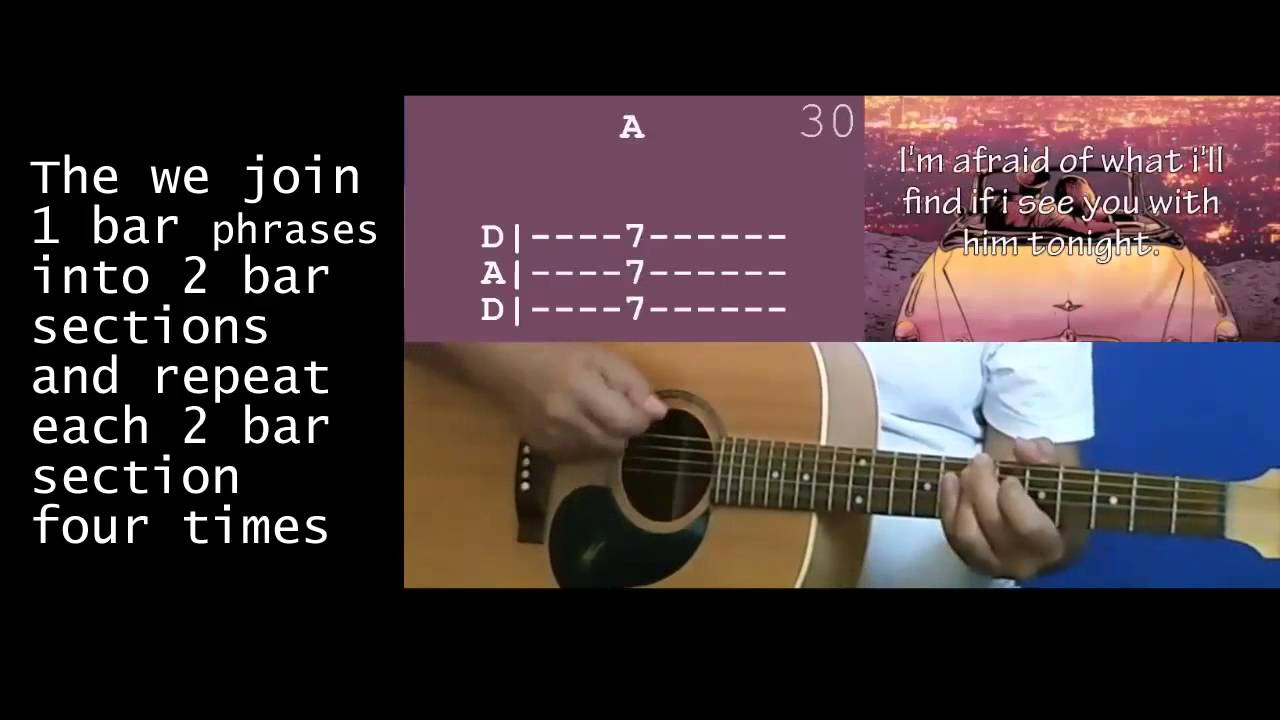 How to play stomach tied in knots on acoustic guitar 841 youtube how to play stomach tied in knots on acoustic guitar 841 hexwebz Images