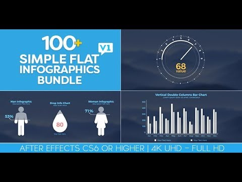 Care to click infographic animation (motion graphics)