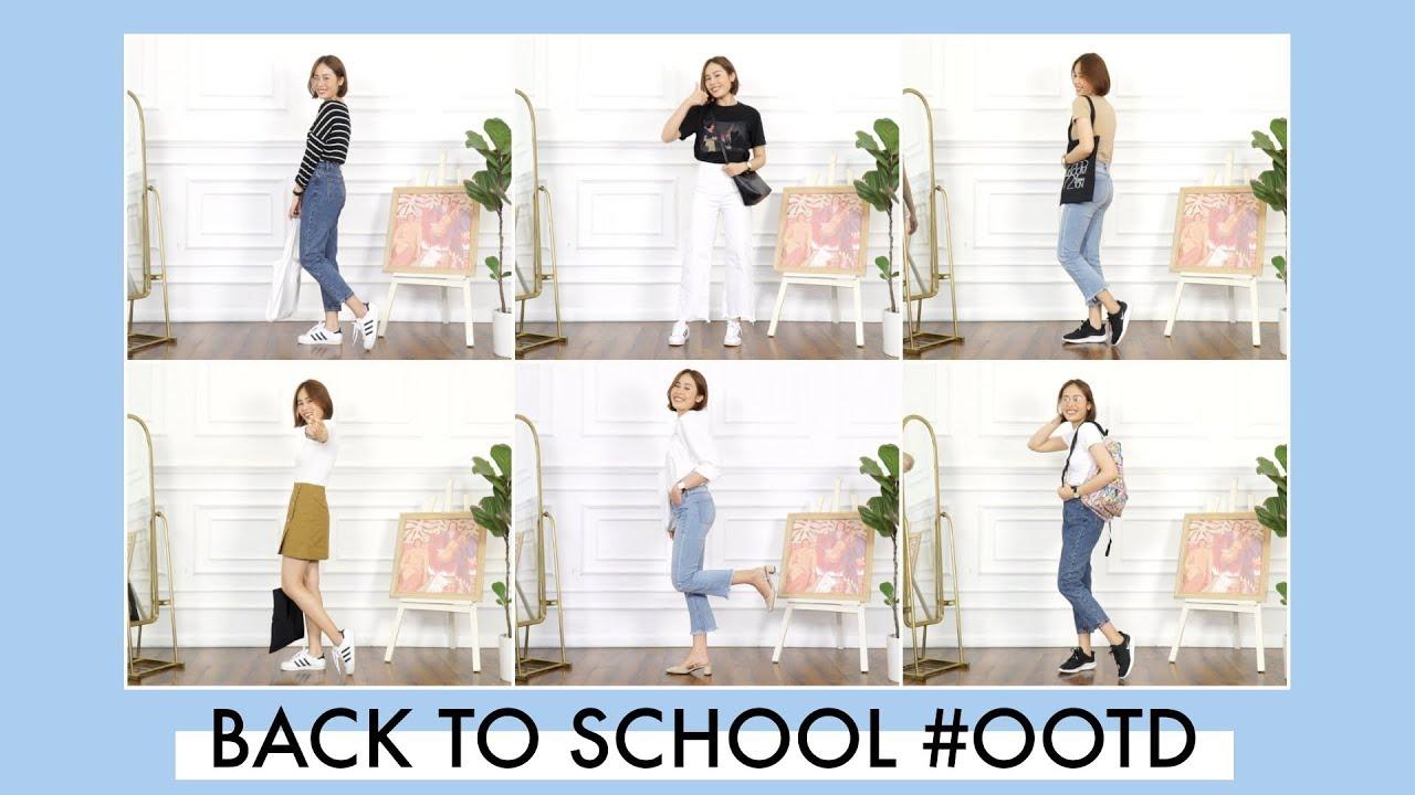 Mặc gì đi học cho xinh ✨ | Back To School Lookbook | Mailovesbeauty TV