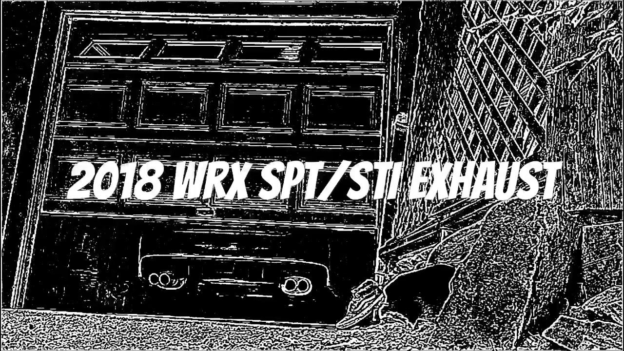 2018 subaru exhaust. delighful subaru 2018 subaru wrx sptsti exhaust with subaru n