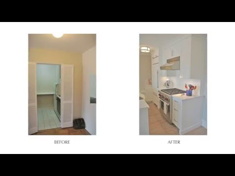 Contemporary West Village Apartment - 61 Jane St. Before & After