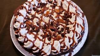 Edwards Turtle Pie In Chocolaty Cookie Crust , Box Opening And A Closer Look