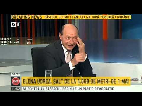 Presedintele Traian Basescu, invitat in emisiunea Evenimentul Zilei