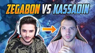 KASSADINSCREED vs ZEGABON   BÖYLE Bİ KAPIŞMA YOK   LOL 1V1