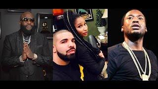 Rick Ross Raps on his New Album that He Warned Meek Mill Not to Trust Nicki Minaj!