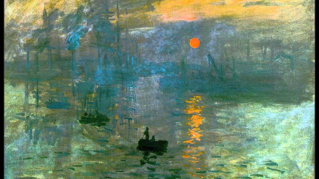 Impressionism Monet Sunrise Claude Monet: I...