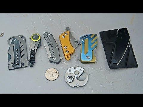 8 Smallest Survival Pocket Knives