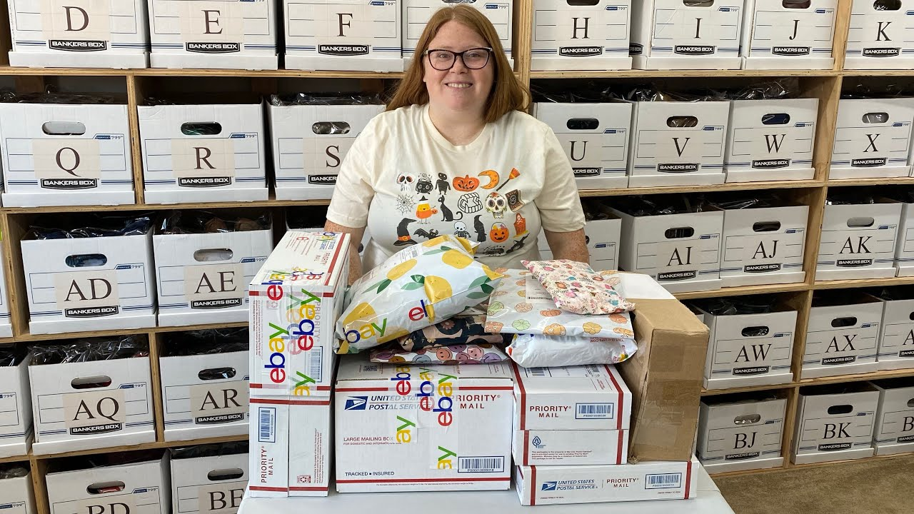 Download 2 Day's of picking and packing what sold for us!
