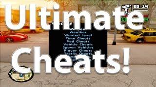 GTA San Andreas Mods - Ultimate Cheats Mod [HD][CLEO]
