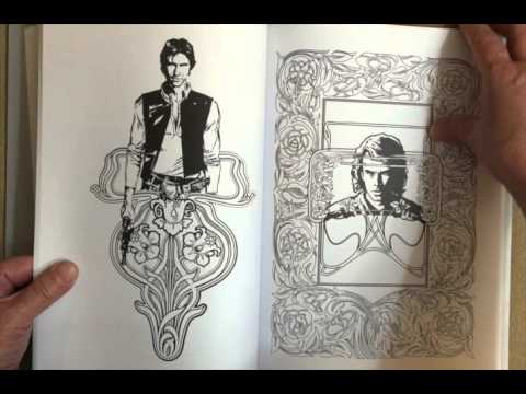 Art of Coloring Star Wars: 100 Images to Inspire