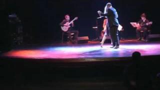 Diana Morris y Martín Pargana con el Trío Argentino de Tango