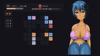 [Mojo: Hanako] A 2048 version of strip poker.