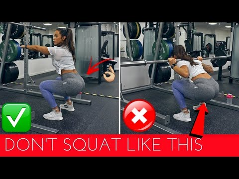 6 COMMON GYM MISTAKES PART 2 LEGS & BOOTY | SQUAT BASICS & MORE