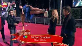 Illusionist Michael Grandinetti in the Hollywood Christmas Parade