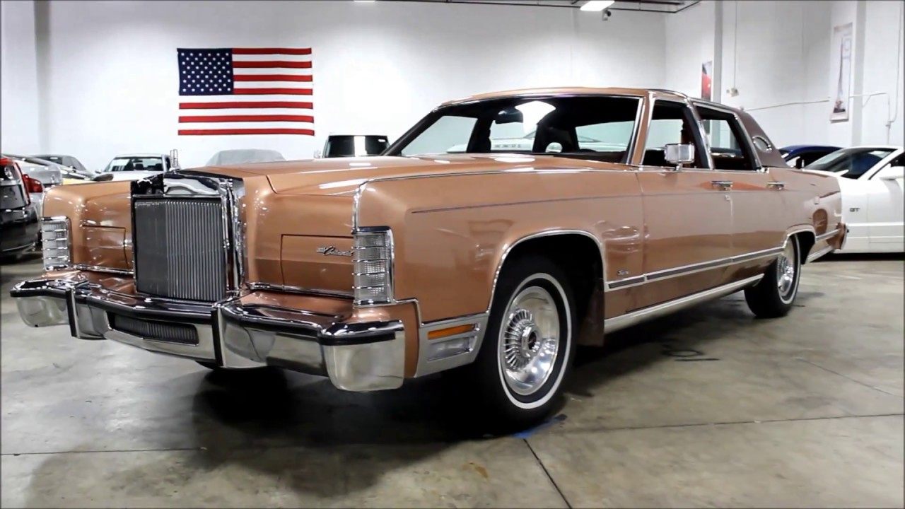 1978 Lincoln Continental Town Car Youtube