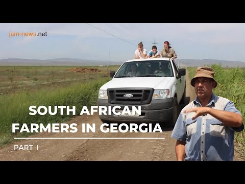 South African farmers live and work in Georgia, June 2017 (in English) Part 1
