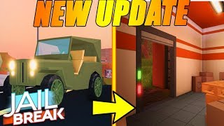 🔴Jailbreak NEW UPDATE COMING! NEW MILITARY JEEP, NEW PRISON| ROBLOX LIVE STREAM 🔴