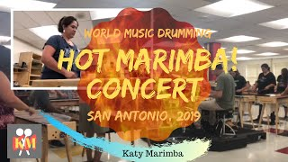 Hot Marimba! Concert in San Antonio and commentary.  ***LIKE & SUBSCRIBE***