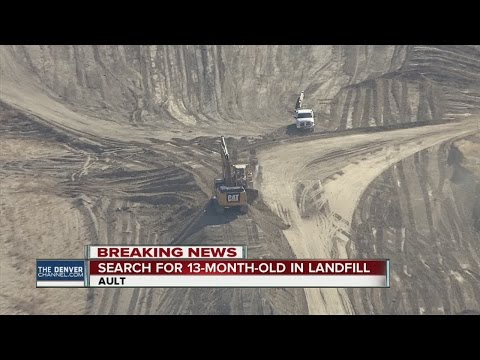 Weld County landfill to be searched for 13-month-old
