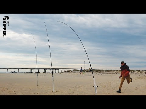 NEW FISHING RIG CATCHES EVERYTHING! (How To Tie An Effective Beach Fishing Rig)