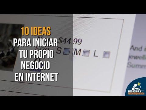 10 Ideas para Iniciar tu propio Negocio en Internet 💻