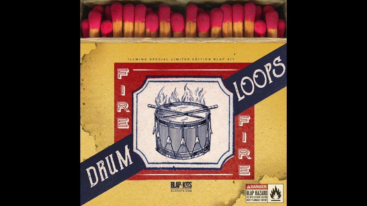 !llmind - Fire Drum Loops