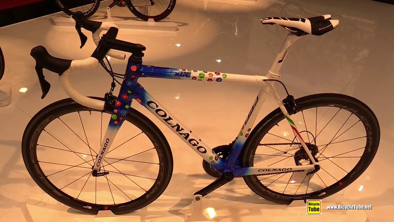5d1c97ccea3 2018 Colnago C60 Mapei Road Bike - Walkaround - 2017 Eurobike - YouTube