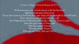 Kanye West - Keep My Spirit Alive (Lyrics) Feat. Conway the Machine, Westside Gunn & KayCyy