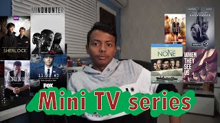 Mini TV series I مسلسلات تصلح لللإجازة