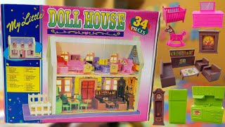 LATEST BIG DOLL HOUSE MADE IN INDIA SET REVIEW AND UNBOXING INDIAN TOY STORE