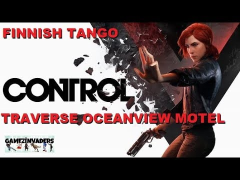 Let's Play: CONTROL [Finnish Tango Traverse The Oceanview Hotel]