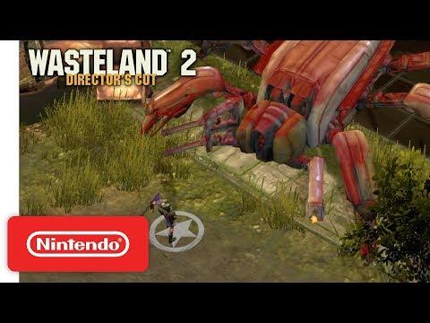 Wasteland 2: Director's Cut - Gameplay Trailer - Nintendo Switch