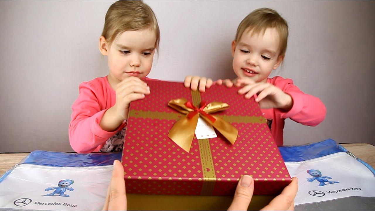 Открываем ПОДАРКИ! Подарок от Mercedes-Benz, коробочка для ...