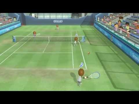 【wiiuテニス】wii sport club-tennis Champions Match(Alice&Barbara)3GameMatch【チャンピオン】