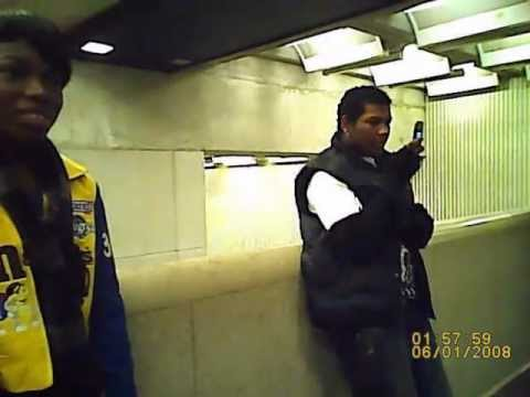 Chris and Phil Witness to Two Young Men At 5 Points Marta Station