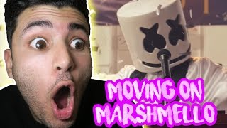 Marshmello - Moving On (Official Music Video) - REACTION