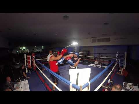 Ultra White Collar Boxing | Leicester | Ben Orton VS Martin Crofts
