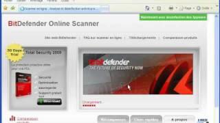 Scan en ligne BitDefender