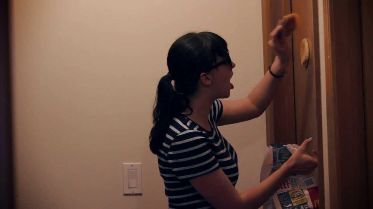Ana Caught Her Roommate Masturbating