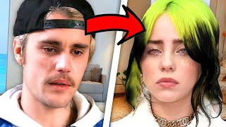 How Justin Bieber's struggles saved Billie Eilish
