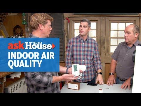 .最好的室內空氣品質監測器:確定會危害您健康與舒適的污染物