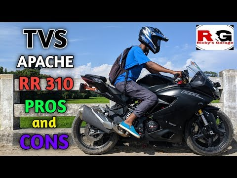TVS APACHE RR 310 | PROS AND CONS | RICKY'S GARAGE ♥️