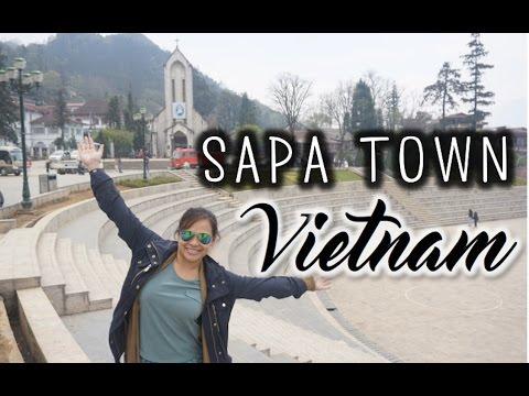 Wandering Around Sapa Town, Vietnam - March 30, 2016 | Kimmyonaquest Vacation VLOG