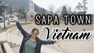 Wandering Around Sapa Town, Vietnam - March 30, 2016   Kimmyonaquest Vacation VLOG
