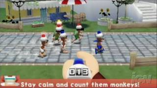 Ape Escape Academy Sony PSP Gameplay -