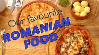 Our Favorite Romanian Food in Bucharest Romania