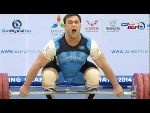 Тяжелая атлетика. Чемпионат Мира. Мужчины до 105 кг. 15.11.2014 год