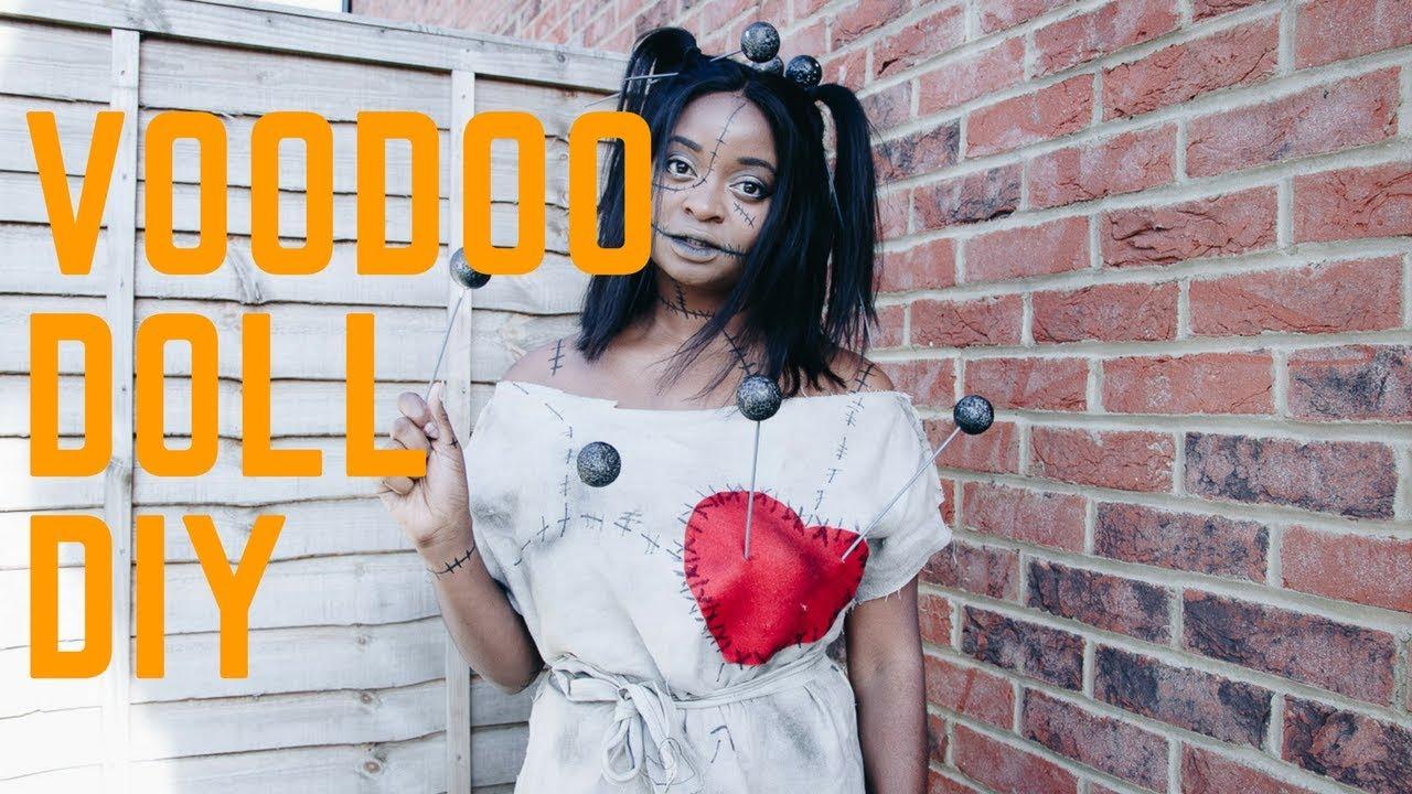 easy diy voodoo doll -halloween 2017 - youtube