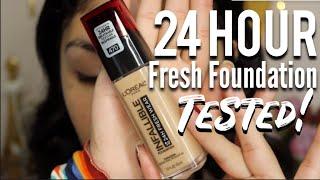 Baixar L'Oreal 24HR Fresh Wear Foundation TESTED!