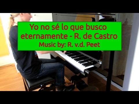Yo no sé lo que busco eternamente - R. de Castro...
